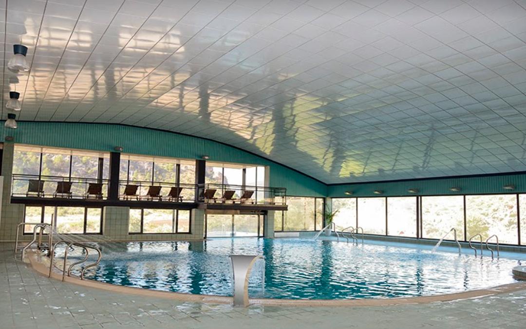 La ampliación del balneario de Ariño es uno de los proyectos aprobados