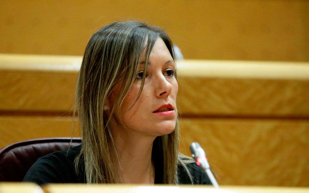 Beatriz Martín, senadora de Teruel Existe