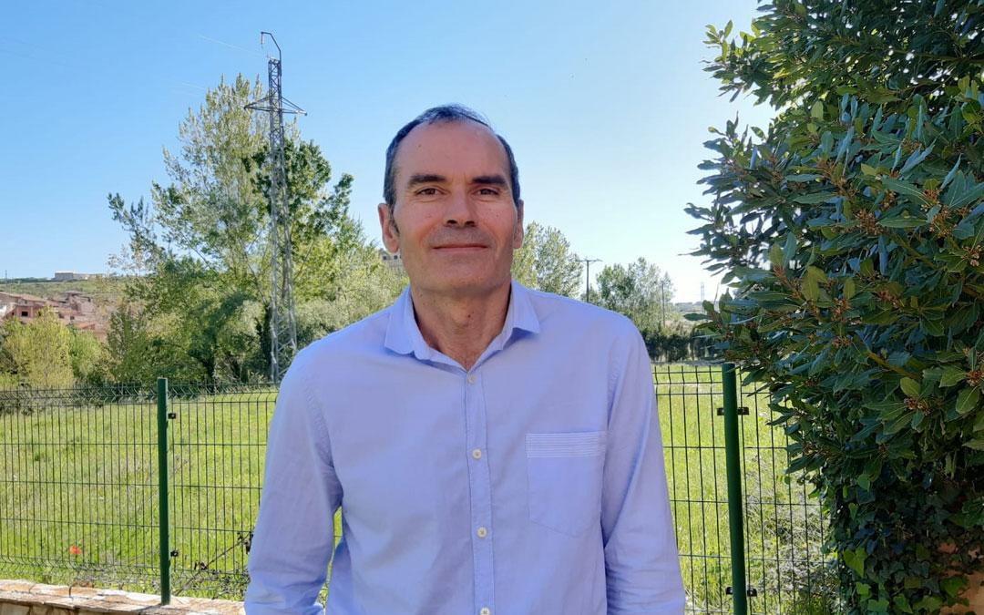 Ignacio Belanche, nuevo presidente de CHA en la Comarca del Matarraña./LA COMARCA