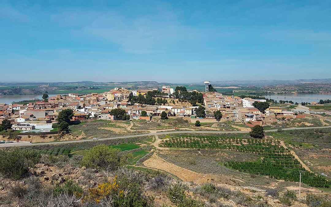 Imagen de la localidad de Chiprana.