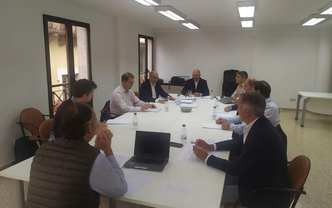 Reunión presencial del Comité Ejecutivo de la Cámara de Comercio de Teruel.