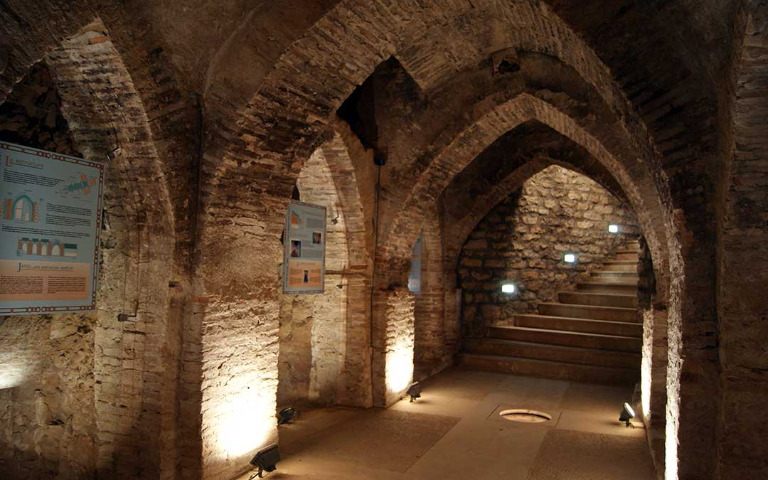 Imagen de archivo de la cripta de Jatiel./ L.C.