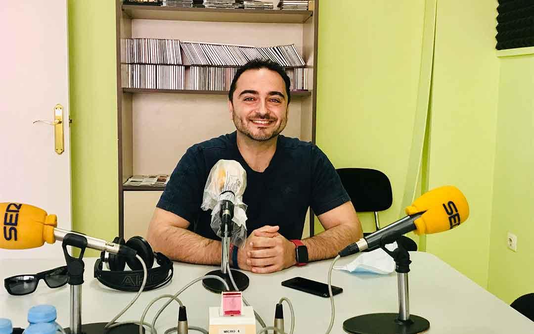 David López es el director del Centro de Adultos Joaquín Costa de Caspe.