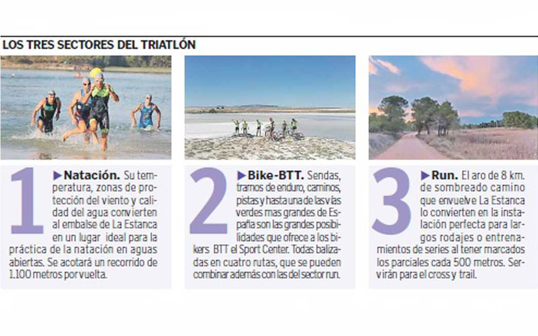 Alcañiz impulsa un centro de turismo deportivo en La Estanca