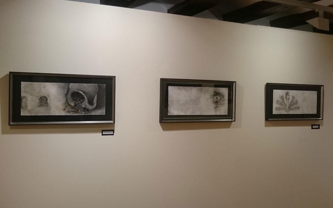 Exposición de dibujos de Paco Lafarga en el museo Juan Cabré de Calaceite