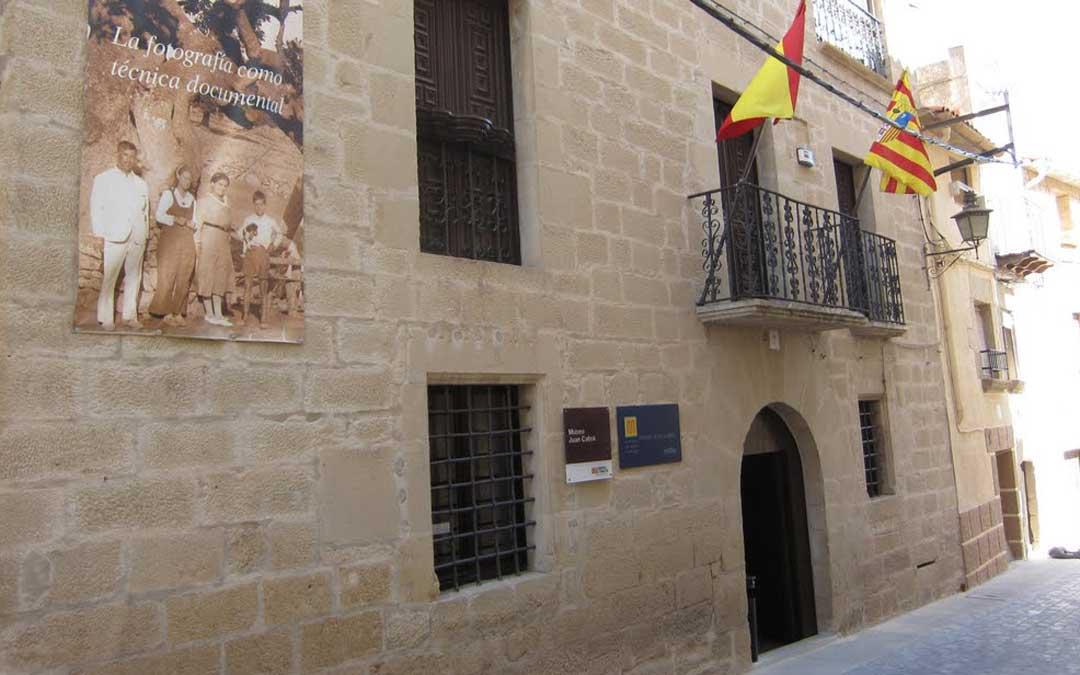 Exterior del Museo Juan Cabré en Calaceite