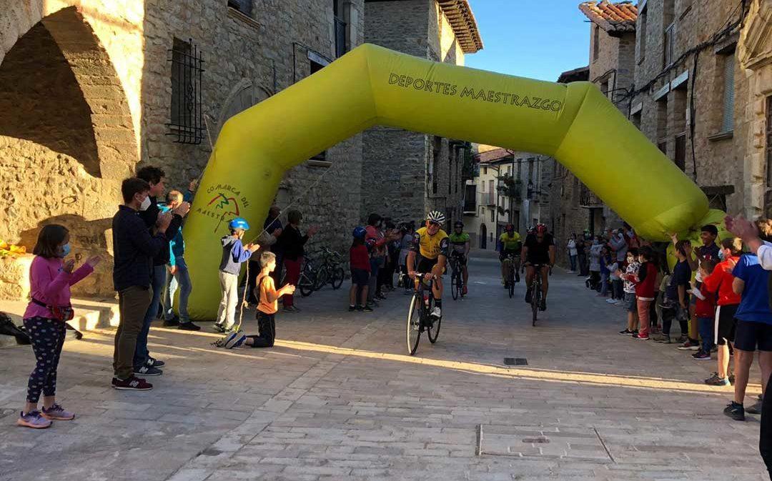 Germán Castel consigue superar el reto de la 'Everesting Challenge'