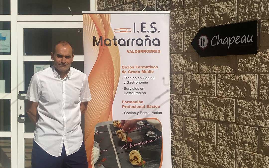 Ignacio Belanche, director del IES Matarraña de Valderrobres./ IES Matarraña