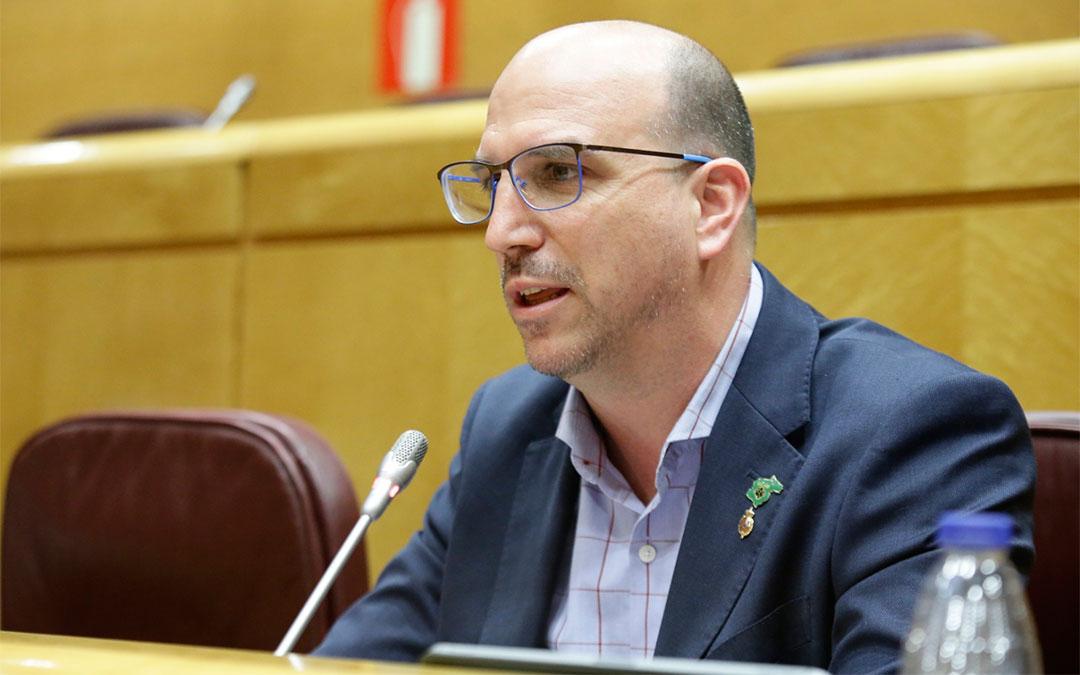 El senador de Teruel Existe Joaquín Egea./ T.E.