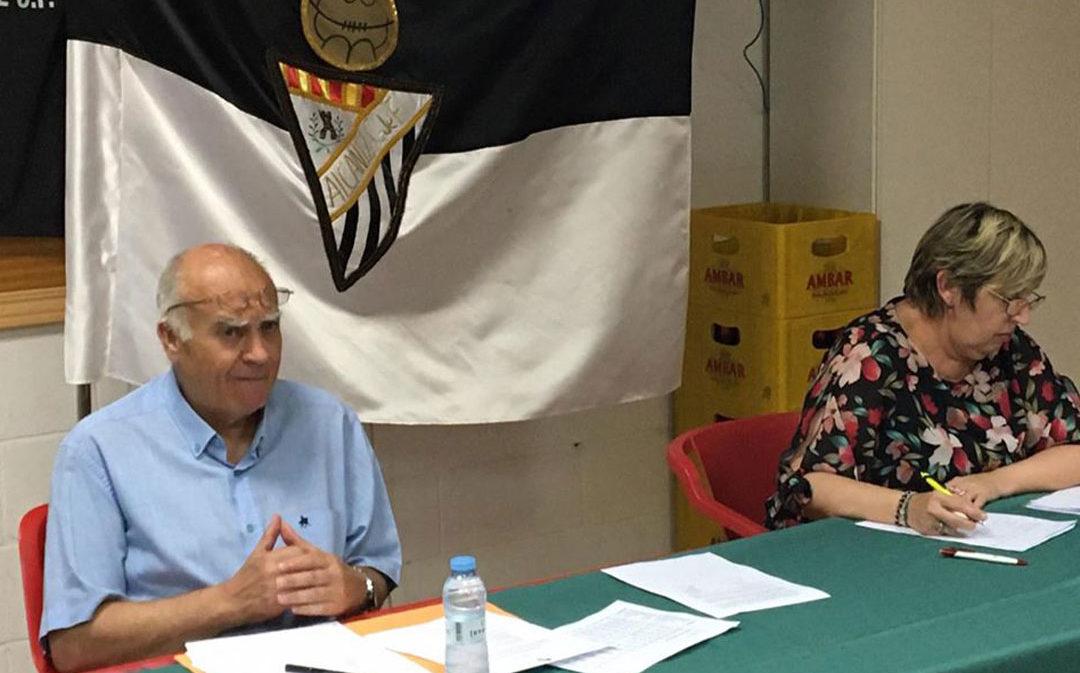 """El Alcañiz C.F. mantiene su directiva y prepara su próxima temporada ante """"la incertidumbre"""""""