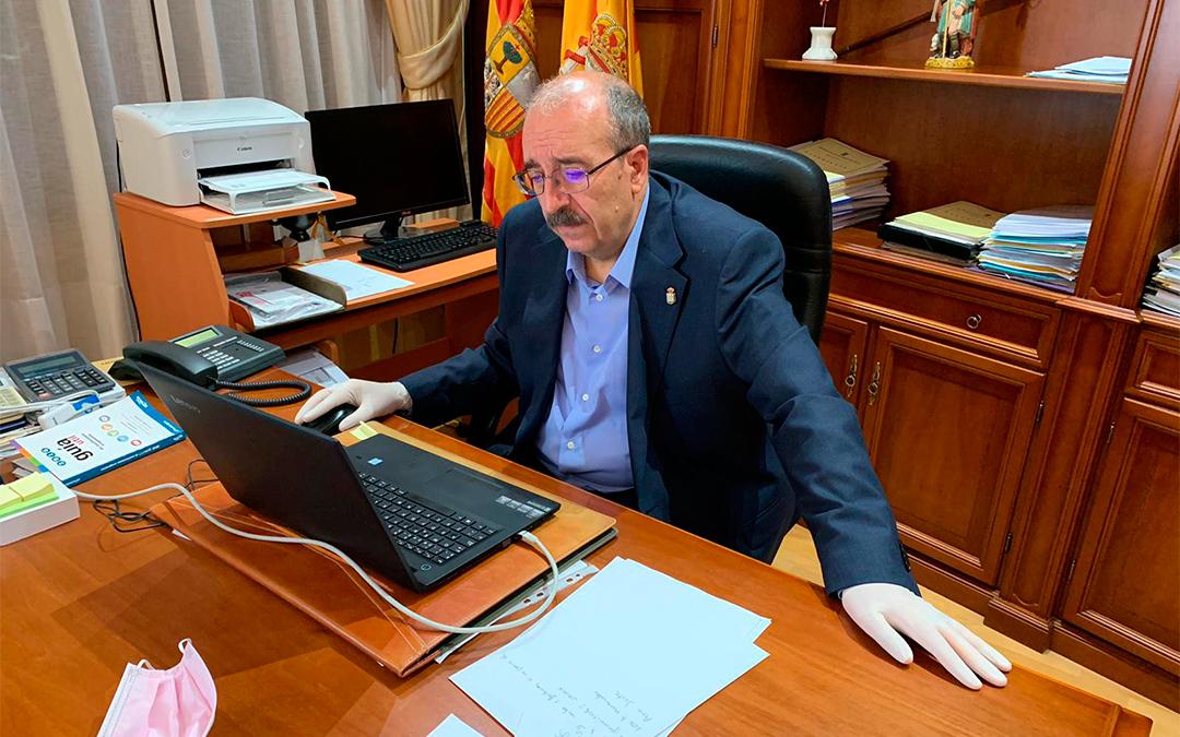 Manuel Rando, presidente de la Diputación de Teruel./ DPT