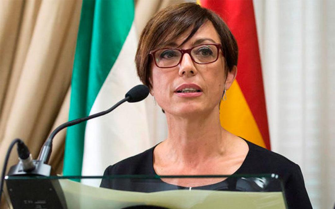 María Gámez, directora de la Guardia Civil, en una imagen de archivo./ Heraldo-EFE