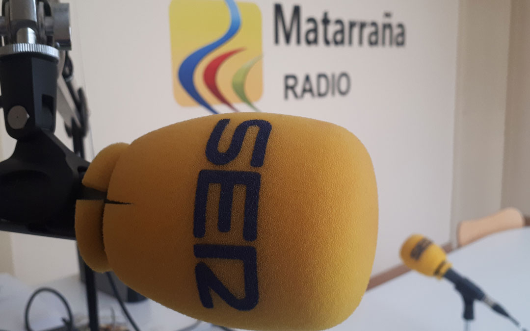 Estudio de Matarraña Radio en Valderrobres./ L.C.