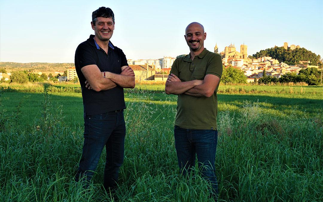 Óscar Pérez y Raúl Ramón, directivos del mercado digital Masiko./ L.C.