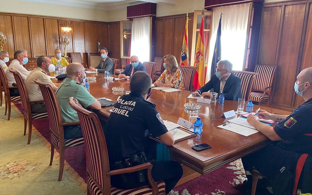 Primera visita a Teruel de Pilar Alegría como delegada del Gobierno en Aragón./LA COMARCA