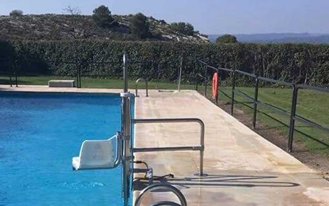 Piscina de verano de la localidad de Castellote