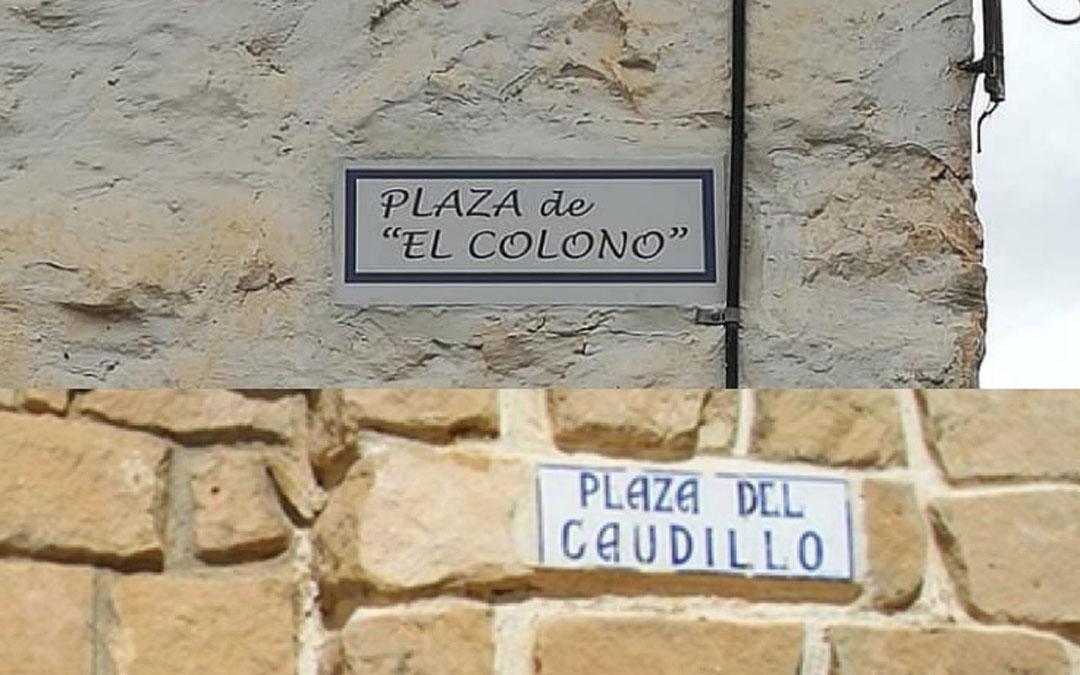 Cambio de nomenclatura de la principal plaza de Valmuel / La Comarca