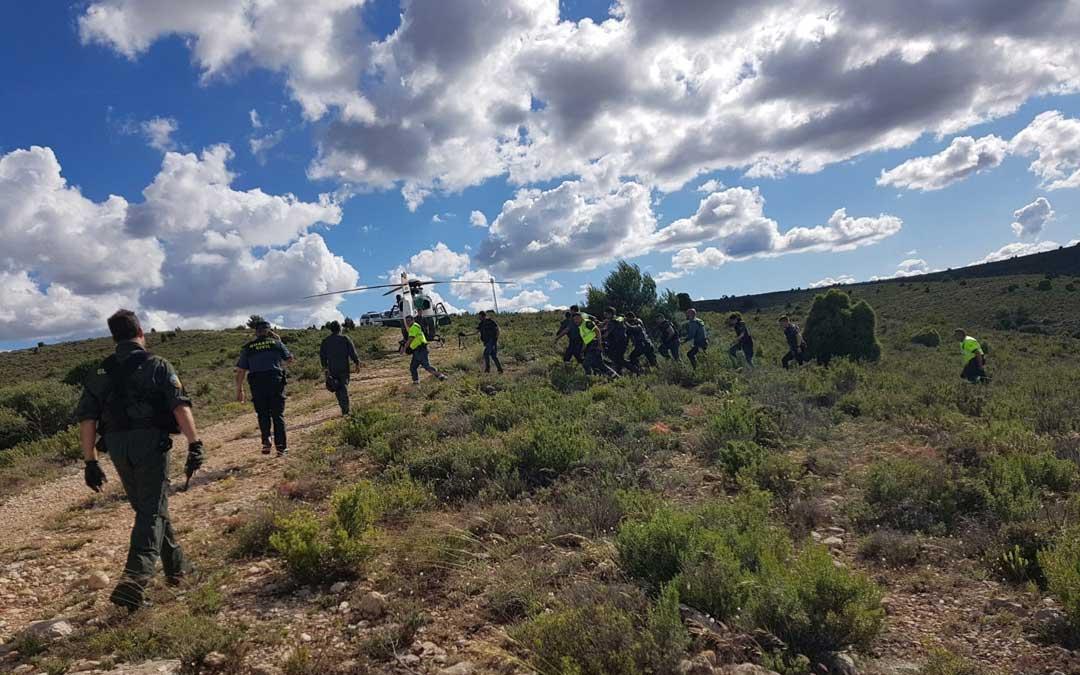 La Guardia Civil detiene al Rambo de Requena./ AUGC