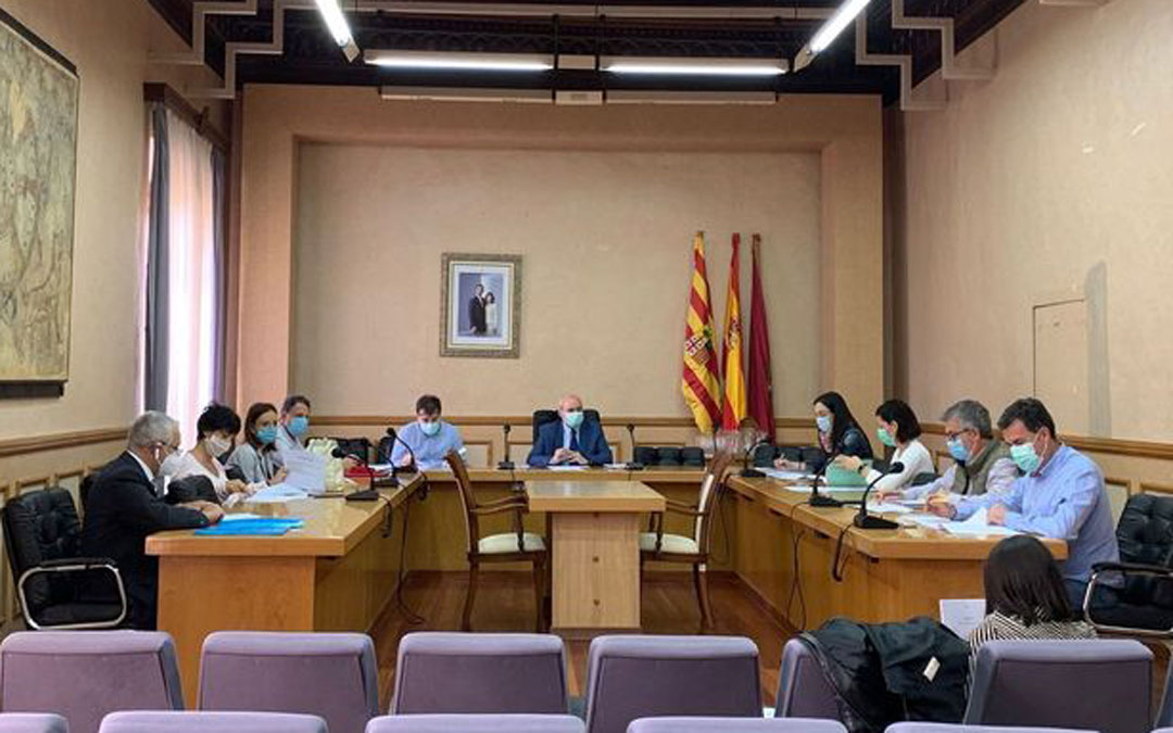 Reunión del Consejo este lunes./LA COMARCA