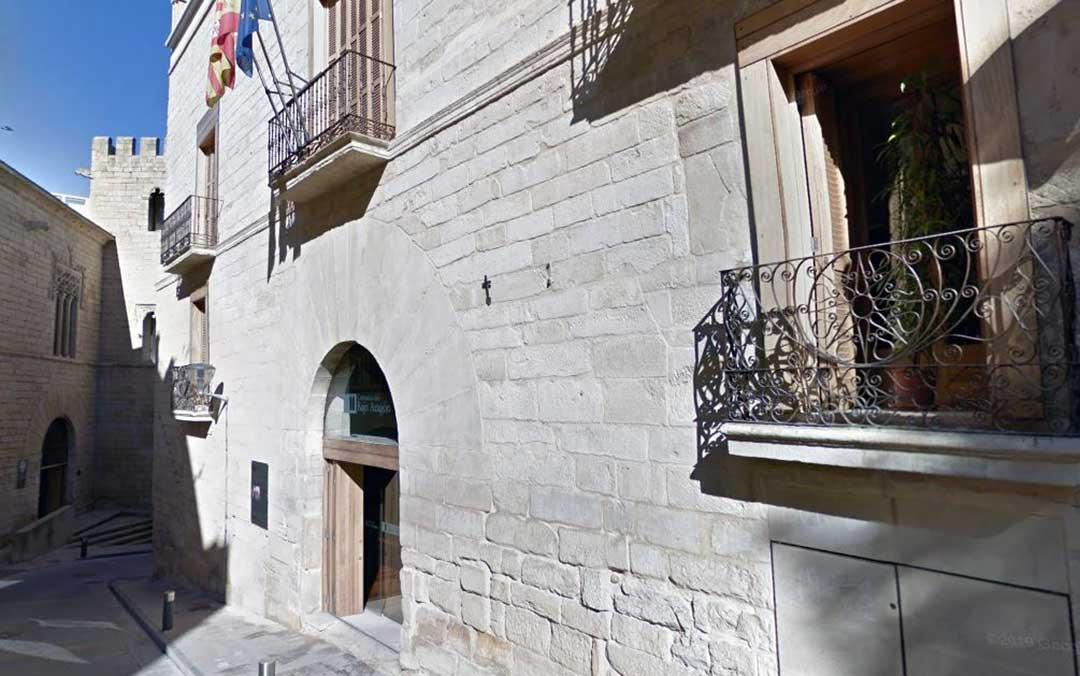 Imagen de archivo de la sede de la Comarca del Bajo Aragón, en Alcañiz./ Google Maps