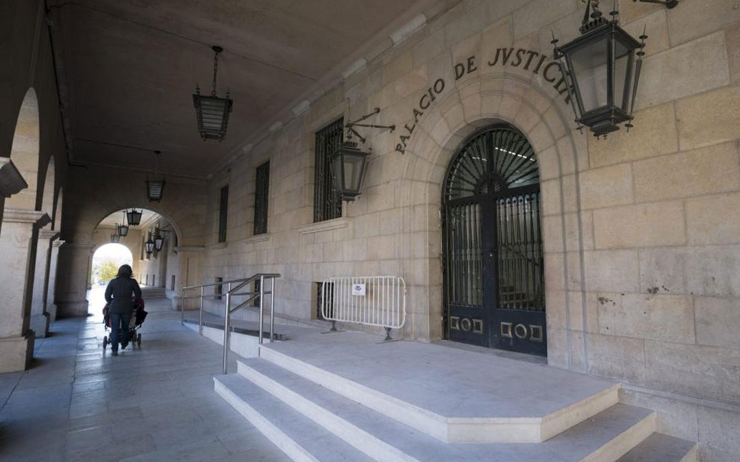 Palacio de Justicia de Teruel.