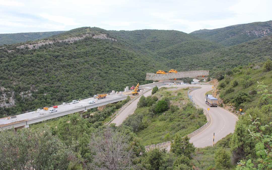 Morella pide desbloquear el segundo tramo de la N-232 mientras se avanza en la obra del Port de Querol