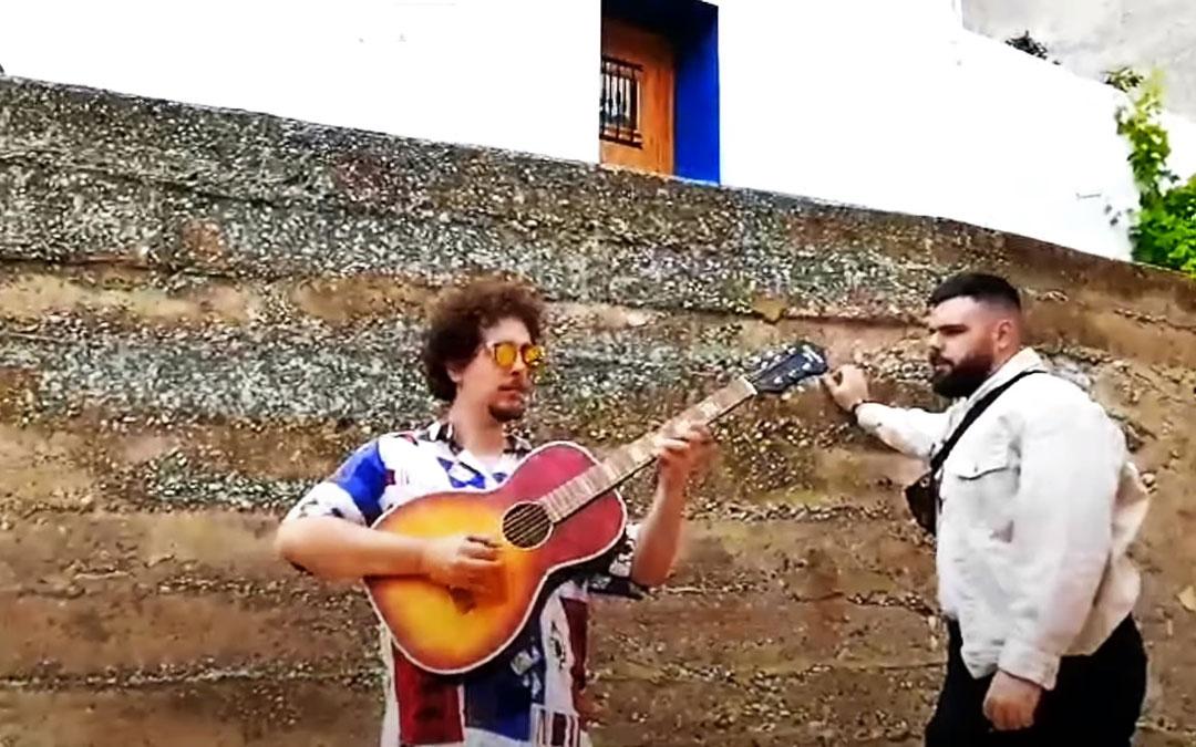 Uno de los enclaves de Albalate que aparecen en el videoclip de 'Tumbaos' que se puede ver en redes y el canal de Youtube de Media Punta.