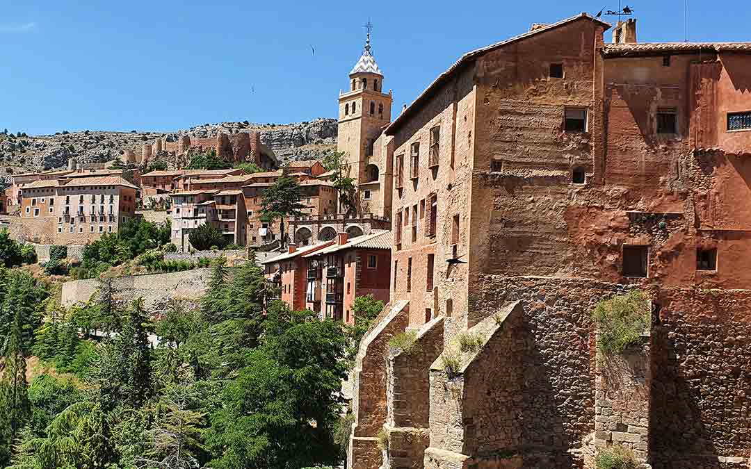 Panorámica de Albarracín./Albarracín