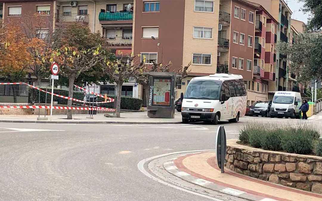 Alcañiz suspende el servicio de autobús porque tiene los dos vehículos en el taller