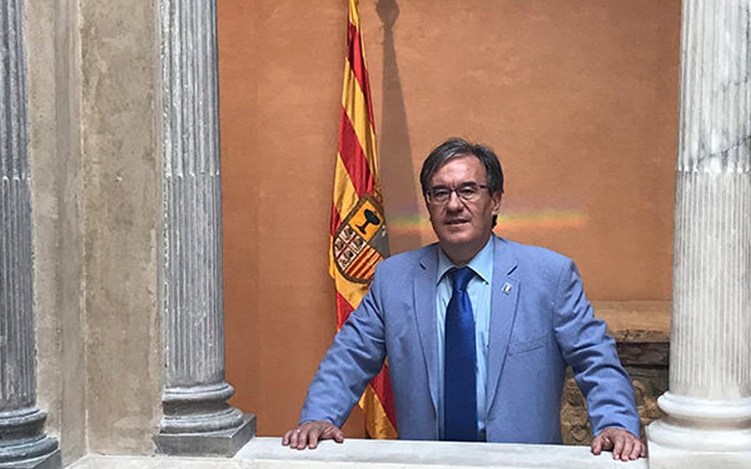 Ángel Dolado. Justicia de Aragón. / L.C.