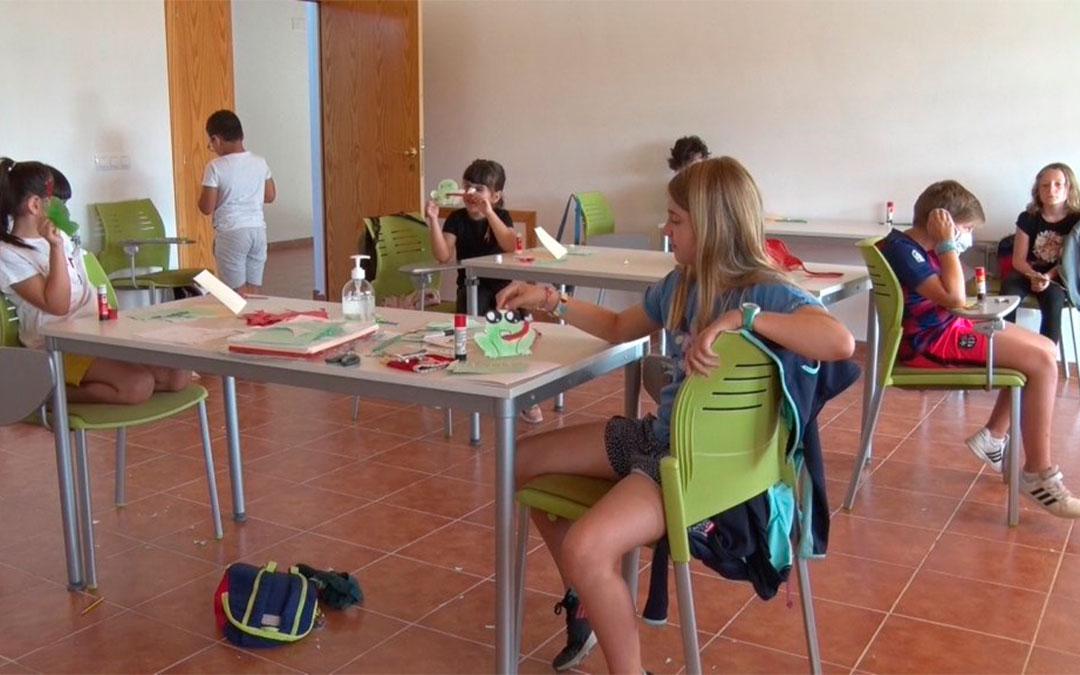 Colonias de verano en el CEA Ítaca de Andorra./ Ayto. de Andorra