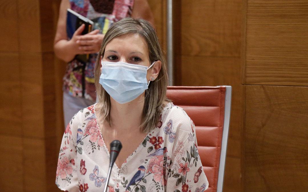 Beatriz Martín en la Comisión de Portavoces del Senado