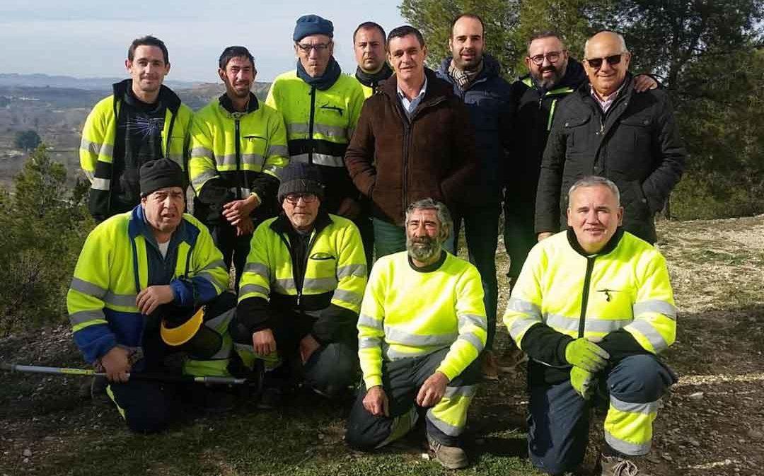 La brigada comarcal del Bajo Aragón comenzará sus trabajos en agosto