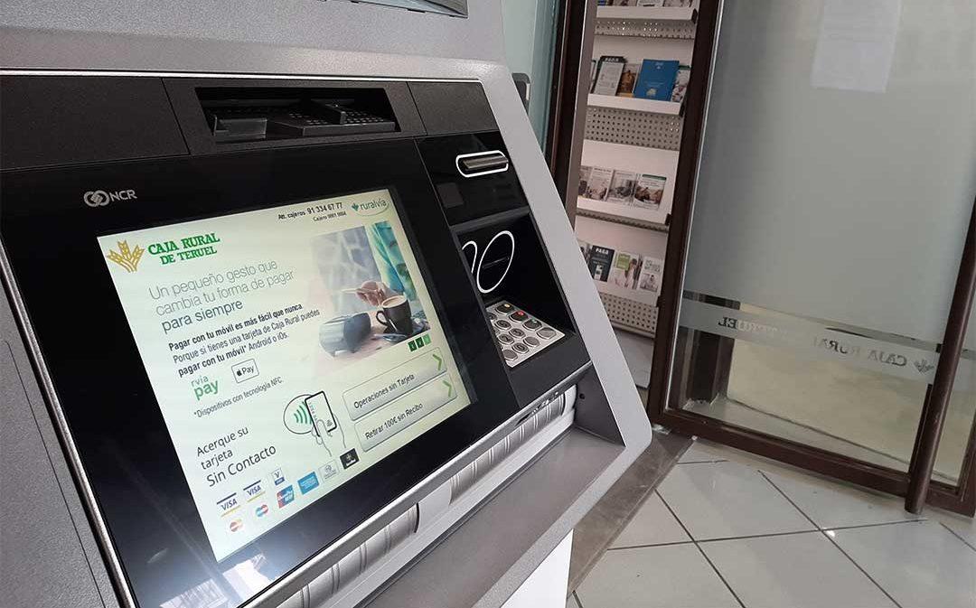 Caja Rural de Teruel amplía y mejora su red de cajeros automáticos