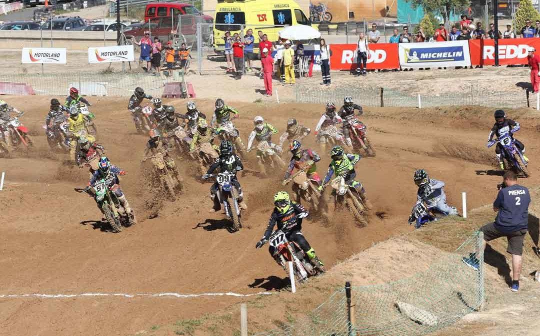 El nacional de motocross regresa en Motorland Aragón