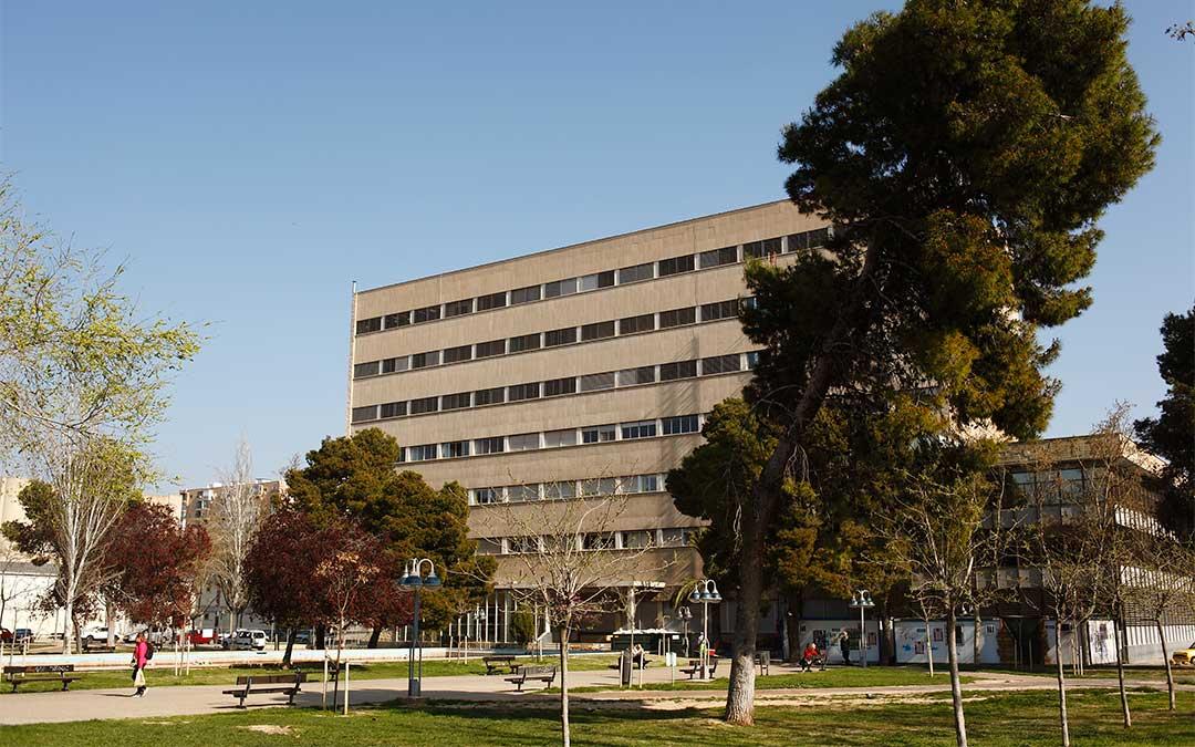 Campus de la Universidad de Zaragoza en la plaza San Francisco./ DGA