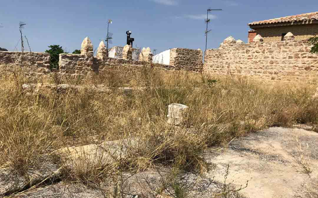 Estructuras medievales del castillo./Facebook Ayuntamiento de Calanda