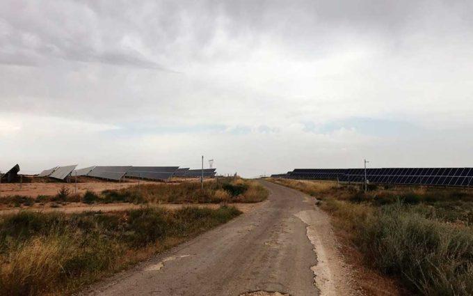 La quinta planta solar de Chiprana podría ver la luz a finales de 2020