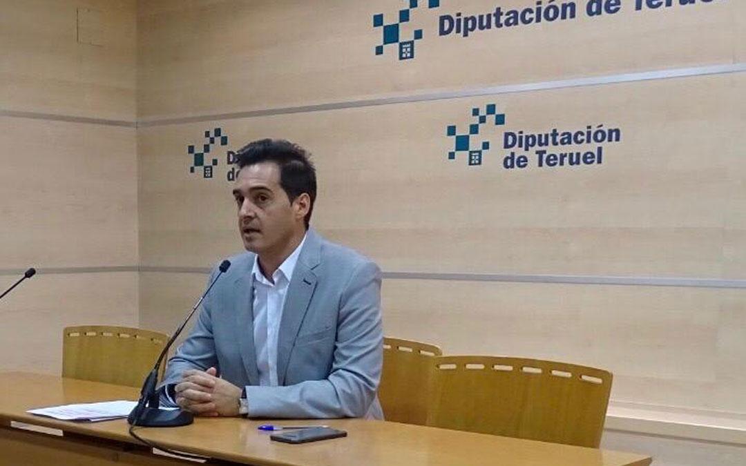 Ramón Fuertes, portavoz de Ciudadanos en la DPT.