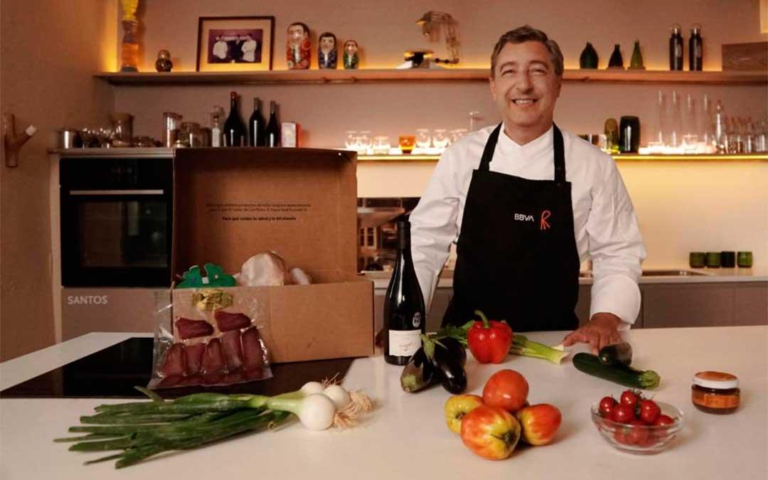 Los hermanos Roca eligen la aceituna del Bajo Aragón para su proyecto de 'Gastronomía Sostenible'