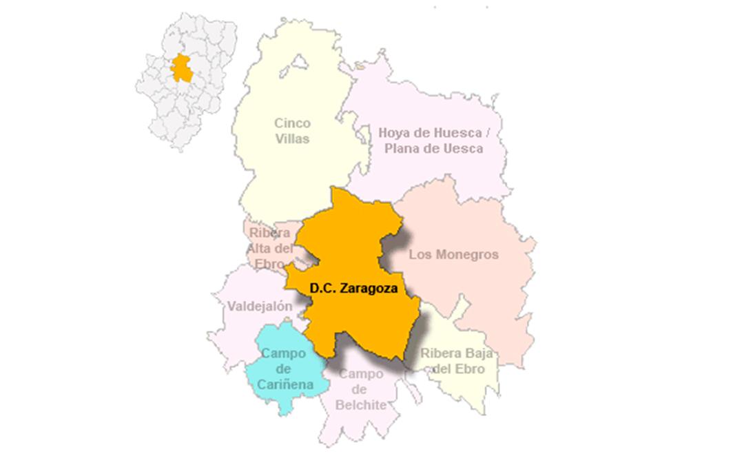 Comarca Central de la provincia de Zaragoza./ L.C.