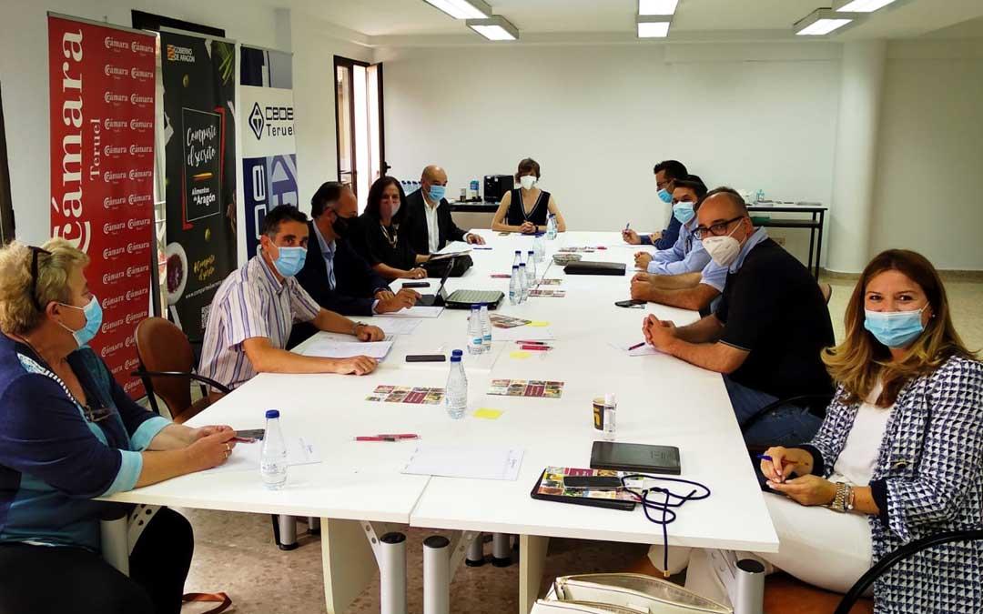 Reunión de la comisión agroalimentaria de la Cámara de Teruel