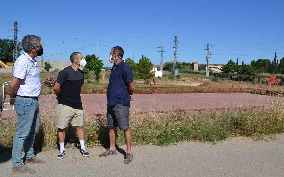 Proyectan un nuevo espacio deportivo para practicar BTT en Alcañiz