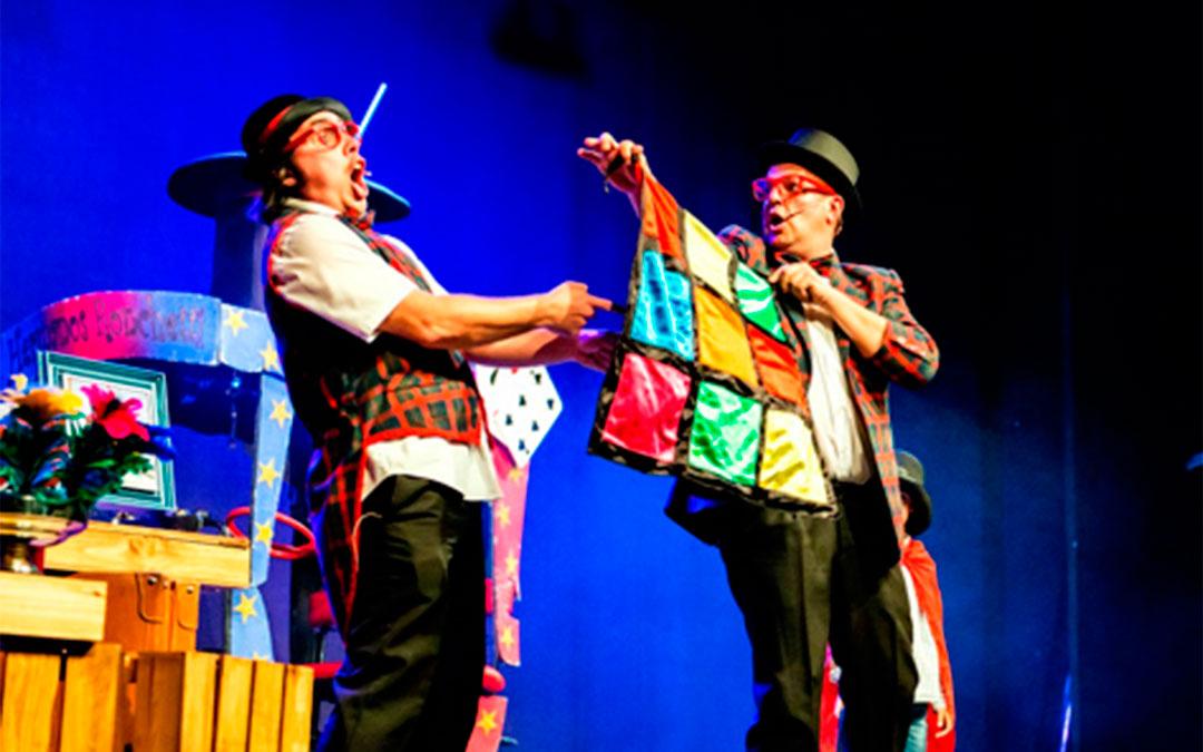 Espectáculo familiar de magia, teatro y humor de los Hermanos Ronchetti./ L.C.