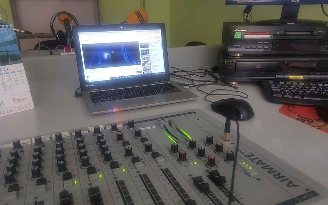 Estudio de Radio Caspe