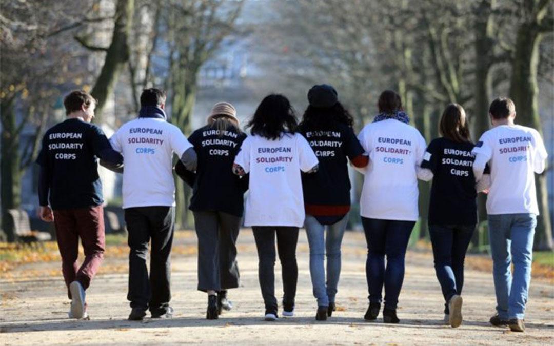 Cuerpo Europeo de Solidaridad./ L.C.