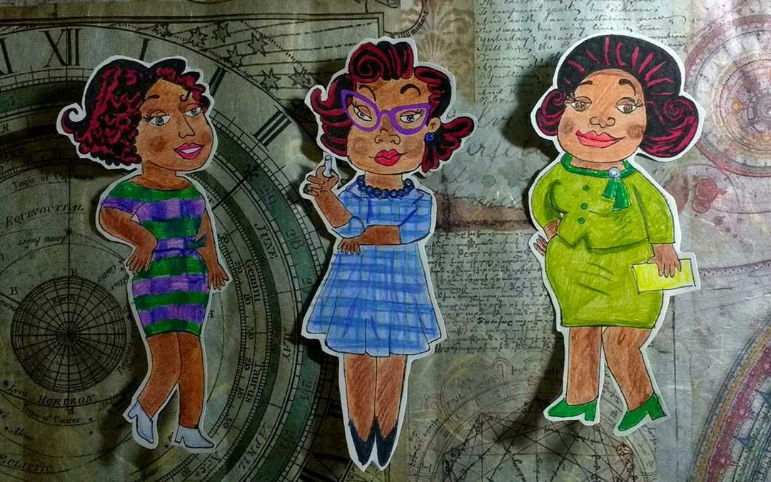 Trabajo inspirado en la película Hidden Figures. / Archivo personal