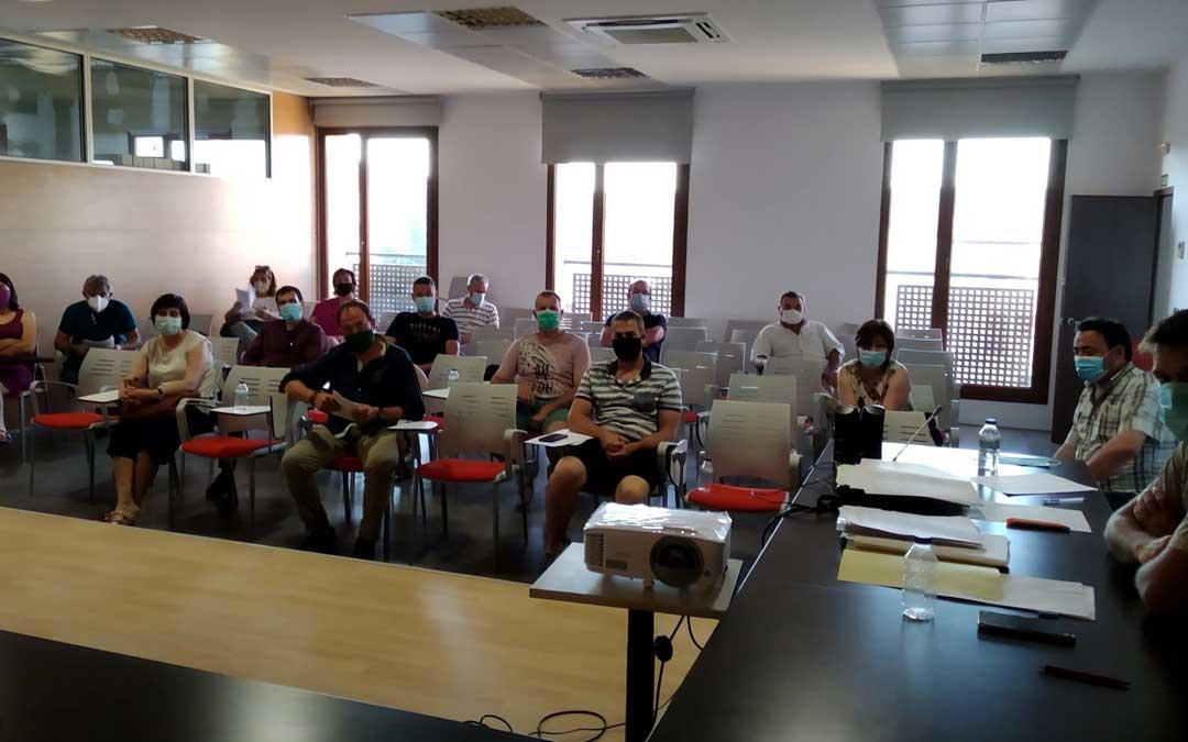 Pleno del consejo comarcal del Maestrazgo celebrado el martes en Cantavieja