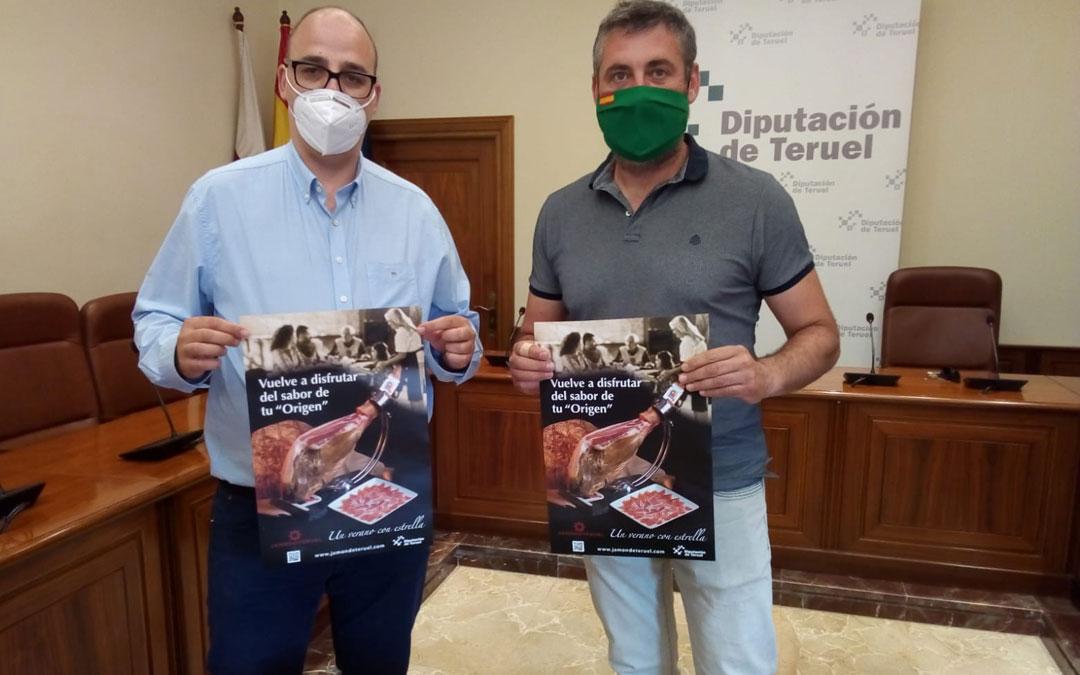El Jamón de Teruel se promocionará en carnicerías y establecimientos hosteleros de toda la provincia este verano