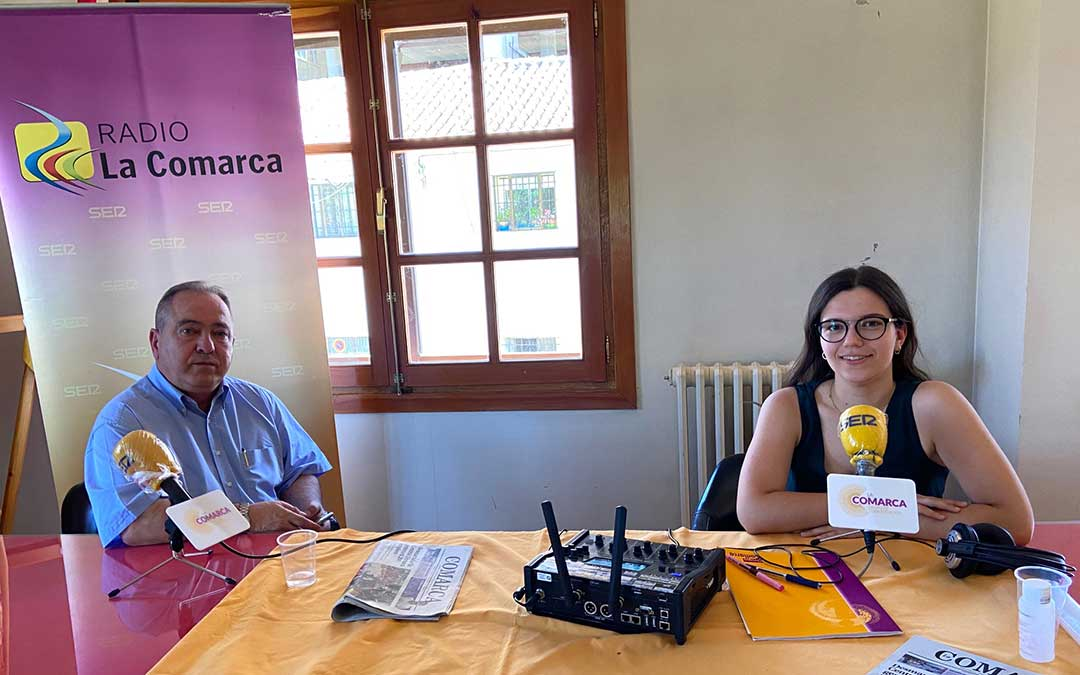 Invitado al programa de Radio La Comarca en Escucha, emitido con todas las medidas de seguridad pertinentes./ L.C.
